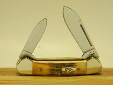 Case Knife Stag Butterbean Canoe