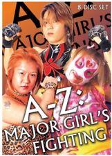 A-Z: FIGHTING GIRLS 8 DVD SET shimmer wrestling nxt divas wwe tna