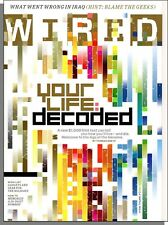 Wired - 2007, December - Futurama Returns, India Skeletons, Decode Your DNA