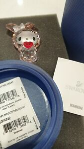 Swarovski My Melody Red Heart New Box and Certificate.5004742