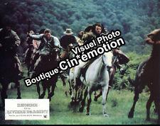 14 Photos Jeux A+B 21x27cm (1982) L'HOMME DE LA RIVIÈRE D'ARGENT Douglas TBE