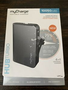 GENUINE myCharge HUB Turbo 10,050 mAh Portable Charger HBT10G-A OPEN NEW!