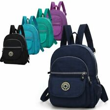 Mini Backpack Purse Nylon Small Backpack Shoulder Rucksack Bag for Women Girls