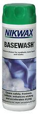 Nikwax-Basewash Detergente per l'uso su elementi sintetici indossati vicino alla pelle