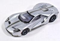 Tomy AFX Mega G+ #22012 Ford GT Silver HO Scale Slot Car NEW! Mega-G