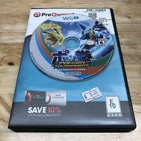Pokken Pokkén Tournament Nintendo Wii U 2016 Disc Only