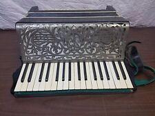 Vintage Hohner Soprani 34/80 Piano Accordion w/Case