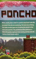 PONCHO DOWNLOAD Steam Game Code Card PUZZLE GAME