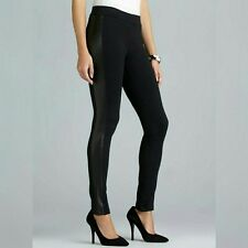 RD Style Leather Pant side stripes legging XS Brand new