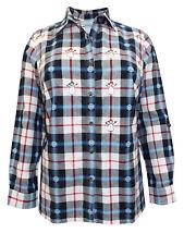Liz&Me BLACK Pure Cotton Festive Print Checked Shirt Size 14/16 to 26/28 RRP £18