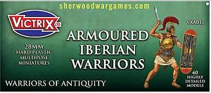 28mm Armoured Iberian Infantry By Victrix, Hail Caesar, Swordpoint Ancients