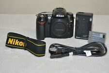Nikon D90 12.3 MP Digital SLR Camera (Black ) Body Only+ Accessories!! USA Model