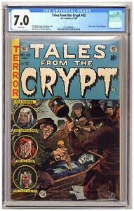 Tales From The Crypt 42 (CGC 7.0) Davis Kamen Krigstein Ingels EC Comics 1954