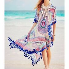 Casual Geometric Dresses for Women with Kimono Sleeve