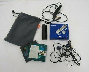 Sony Walkman Portable Minidisc Recorder MZ-N710 Blue - KEY D3
