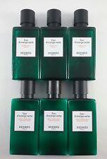 Hermes d'Orange Verte Shampoo & Conditioner 6 (3 of ea) 1.4oz bottles FREE BONUS