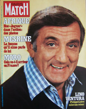Paris Match n° 1513 daté du 26 mai 1978 - Lino Ventura / Jacques Mesrine