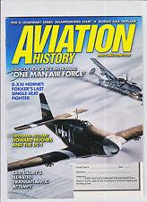 AVIATION HISTORY-MAR/2004-FOKER DXXI HORNET/HUGHES DC1/MEDAL OF HONOR JIM HOWARD