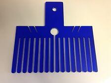 Crafting bow maker,double bow maker, Blue,15.5cm x 9cm Made in the uk, new