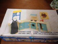 Vintage Le Toy Van Wooden Me059 Kitchen Dolls House Furniture