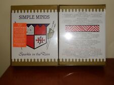 Simple Minds - Sparkle In The Rain 4CD+DVD Box Deluxe sealed  free shipping