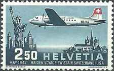 Timbre Avions Suisse PA41 ** (42144AA) - cote : 25 €