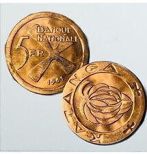 1961 Katanga ( Congo Republic) 5 Francs KM#2 - Uncirculated