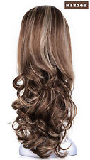 OneDor 23 Inch Curly 3/4 Full Head Japanese Kanekalon Hair Wig - R1224b Color