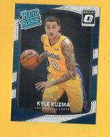 8808  2017-18 Donruss Optic #174 Kyle Kuzma LAKERS ROOKIE CARD