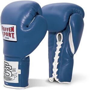 Pro Classic Profi Boxhandschuhe, Paffen Sport blau. kickboxen, Boxen, Muay Thai