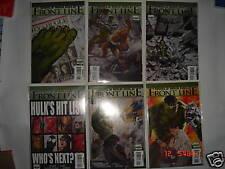 World War Hulk Frontline Marvel Legends Comics Set of 6