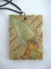 """Egyptian Resin Antique Looking Necklace with Choker King Akhenaton Design 18.5"""""""