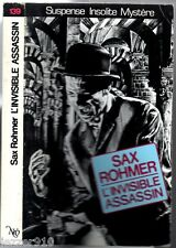 NEO n°139 ° SAX ROHMER ° L'INVISIBLE ASSASSIN ° 1987 MIROIR OBSCUR
