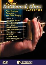 Great Bottleneck Blues Lessons Nine Powerful Excursions into Slide Gui 000642091