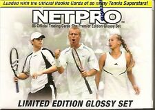 2003 NETPRO PREMIER EDITION GLOSSY TENNIS SET LIMITED #2675/5000 FACTORY SEALED