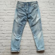 New Rare Sample Levis Karla Welch HI-BALL Patch Work Denim Jeans Size 32