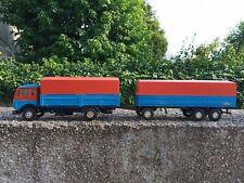 NZG / CURSOR 1:50 camion truck LKW mercedes + remorque KÄSSBOHRER trailer code 3