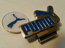 Brand New White and Blue Puma Golf Ball marker with hat clip!!