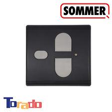 Sommer Funk-Wandtaster für Garagentorantrieb anthrazit 868 MHz Innen-Taster Funk