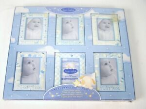 bon bebe 6 pk Photo Frame Gift Set Baby First Smile Pictures of you new Baby
