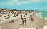 AG(T) Sun and Surf Bathers Enjoy Lovely Clearwater Beach, Florida
