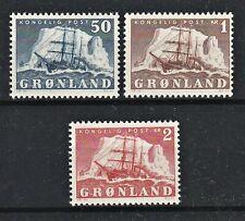 Dänemark -  Grönland - MiNr 34-36** - postfrisch - Mi€ 90,-