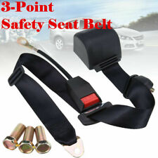 3 Point Retractable Auto Car Safety Seat Belt Diagonal Belt For Universal Car