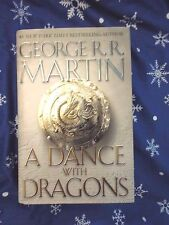 A Dance with Dragons by George R R Martin 2011 HARDCOVER w/DJ 1st/1st Game of...