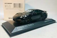 1:43 MINICHAMPS 2020 PORSCHE 911 992 turbo S Black Beast LE 200 pcs. DEALER !!!