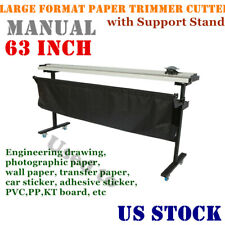 TRIO 3216 PAPER CUTTER TRIMMER USA VERSION WITH INCH GRID MARKINGS ON BASE