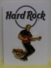 Hard Rock Cafe Pin Rob Marshall Memorial Server Playing Guitar Sacramento LE300