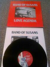 BAND OF SUSANS - LOVE AGENDA LP + INNER!!! UK 1ST PRESS BLAST FIRST BFFP 43