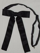 Men's Western Black Kentucky Adjustable Tie