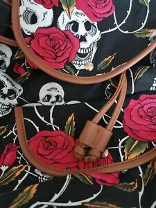 Mini Skull & Roses Backpack